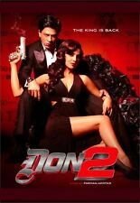 Don 2 - Shahrukh Khan, Priyanka Chopra - bollywood hindi movie dvd