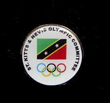 NEW Olympic Games LIMITED St Kitts & Nevis NOC team pin