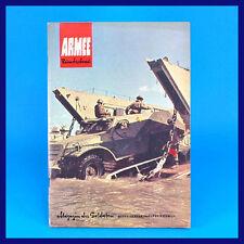 Armeerundschau 1-1967 NVA Volksarmee Soldatenmagazin DDR-Zeitschrift K. Schröder