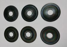 6x Hartmetall - Sägeblatt DIXI1533 Ø56 x 1,7 x Ø16 Z=80 nachgeschliffen T1767
