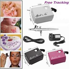 SP16 Beauty Special Air Compressor Suit Airbrush 0.4mm Needle Art Makeup Kit