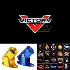 1x USA Victory Motorcycles Logo Motorcycle Laser Projector Shadow Cree LED Light