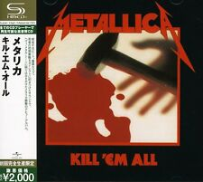 METALLICA Kill'em All CD JAPAN 2009 SHM-CD AUTHENTIC / GENUINE UICY-91451 s4181