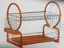 PREMIER 2 TIER DISH DRAINER (ORANGE) ITEM: 0509864