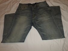 ED HARDY Men's Light Wash Denim(Jeans) Size: 36-32