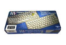 New! PFU Happy Hacking Keyboard Lite 2 HHKB US Layout Black USB PD-KB200B/U NIB
