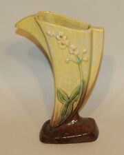 1940s Roseville Pottery Chartreuse Glaze High Gloss Wincraft Vase 273-8 (AS IS)