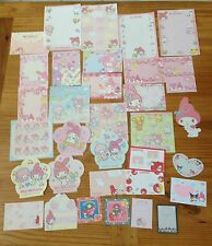 Sanrio MY MELODY LOT Stationery / Stationary Memo 30 sheets Writing Paper