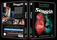 SUSPIRIA - 2 Disc Limited Edition MediaBook + Blu Ray & Dvd -