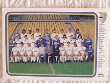 CARTOLINA CALCIO SQUADRA PARMA SCHIERATA 1992/93 GRUN PIN OSIO ASPRILLA MELLI