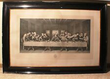 Kupferstich Bild Grünberg Abendmahl da Vinci Matteini  Kreuzigung Jesus #1546