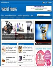 niche 'COSMETICS & FRAGRANCES' WEBSITE BUSINESS FOR SALE! with TARGETED CONTENT'
