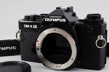 Exc+++++ Olympus OM-4 TI Black 35mm SLR Film Camera Body Only from Japan a252