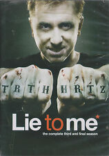 LIE TO ME - Complete 3rd & Final Series. Tim Roth, Kelli Williams (4xDVD SET'11)