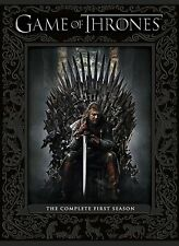 GAME OF THRONES Complete HBO TV Series 1 DVD Box Set Collection + Extras New