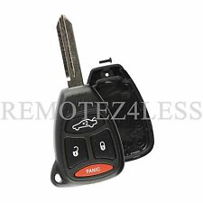 Replacement for Chrysler Jeep Dodge Remote Car Key Fob Shell Pad Case 4b Lrg