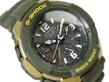 Casio G-Shock * G-Aviation G1200G-1A Triple G Solar Military Green COD PayPal