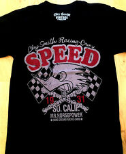 Original CLAY SMITH Vintage Tuning Woodpecker Motorcycle Biker T-Shirt Gr.XL