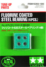 Tamiya 15393 1/32 Mini 4WD/Pro Fluorine Coated 620 Steel Bearing (4pcs)