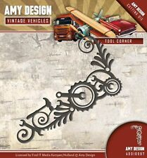 Amy design cutting & embossing die outil coin ADD10097