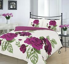 Printed Duvet Cover 48 Rosaleen Pillow Cases single Double King super King Size