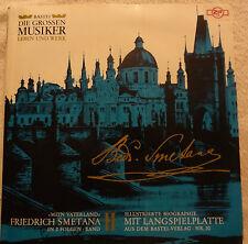 LP Vinyl Die Grossen Musiker Bedrich Smetana Mein Vaterland Band Leben und Werk