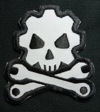 DEATH MECHANIC MORALE BADGE US USA ARMY SWAT VELCRO® BRAND FASTENER PATCH
