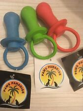 Quality Rubber Dummy. Paws Paradise + Plutos Pets Quality Pet Toys!!!