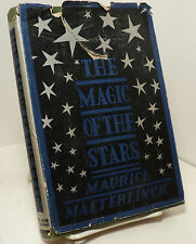The Magic of the Stars by Maurice Maeterlinck - 1930