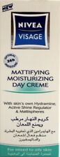 Nivea Visage Mattifying Moisturising Day Cream 50ml