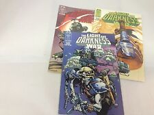 Light and Darkness War #1-4 (Epic/ Marvel/1014303) comic collection lot of 3