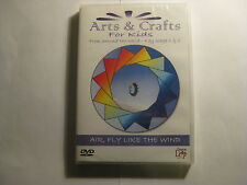 Arts & Crafts for Kids KS1 & 2 (Air Fly like Wind) DVD (SEALED)