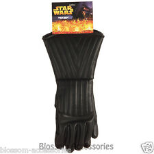 A559 Star Wars Darth Vader Black Child Boys Gauntlets Costume Gloves Accessory