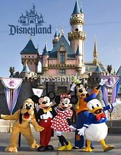 Calif - DISNEYLAND CHARACTERS  - Travel Souvenir Fridge Magnet