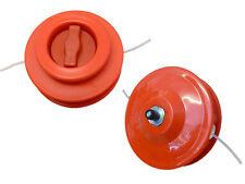 Débroussailleuse, rotofil orange ligne 2 tête y compris adaptateur boulon
