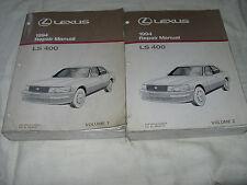 1994 Lexus LS400 LS 400 SERVICE MANUAL SHOP REPAIR WORKSHOP