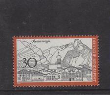 WEST GERMANY MNH STAMP DEUTSCHE BUNDESPOST 1970 TOURISM OBERAMMERGAU SG 1523