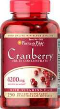 Cranberry Fruit Concentrate with C & E 4200 mg x 250 Softgels **AMAZING PRICE *