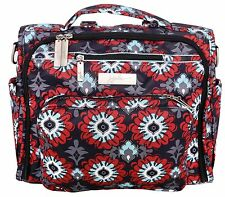Ju Ju Be Legacy BFF Baby Diaper Bag Backpack w/ Changing Pad Sweet Scarlet NEW