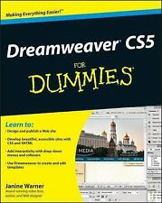 Dreamweaver CS5 for Dummies by Janine Warner (2010, Paperback)
