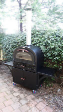 Wood Fired Pizza Oven Sourdough 660 Model Fully insulated  with sealing doors.
