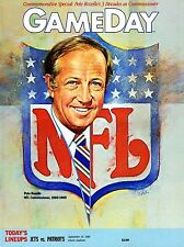 1989 New York Giants Home vs New England Patriots NFL Football Program