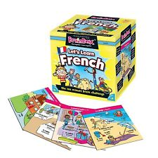BrainBox-Lets Learn French by The Green Board Game Co.[90055] multi-colored UXX