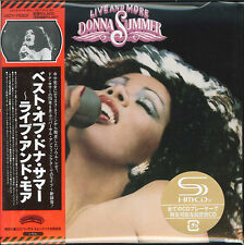 DONNA SUMMER-LIVE AND MORE-JAPAN MINI LP SHM-CD Ltd/Ed G00