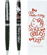 SWAROVSKI Crystal Sanrio Hello Kitty Crystalline Clip Ball Point Pen Blue Ink