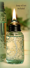 Miniature Mason Jar OIL LAMP ~ Great for Parties & Weddings