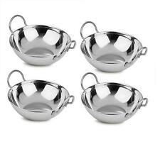 Set Of Four 18cm Indian Restaurant Style Balti Curry Dish Chicken Tikka Bowls