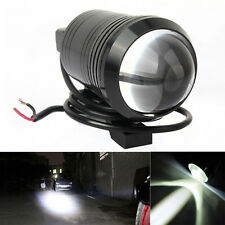 "2x Motorcycle U1 Cree LED 15W(3"" length) Bike Fog Spot Light Lamp WHITE/RED"
