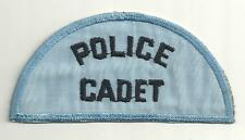 ////  POLICE CADET POLICE PATCH  ////