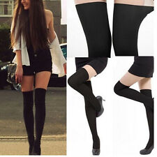 Sexy Women Ladies Mock Sling Connected Tights High Knee Socks Sheer Stockings